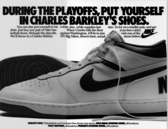 Barkley newspaper ad