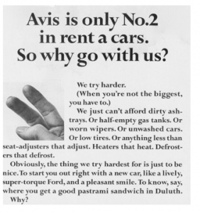 Avis Tries Harder ad